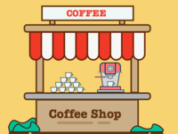 Coffee Shop Illustration