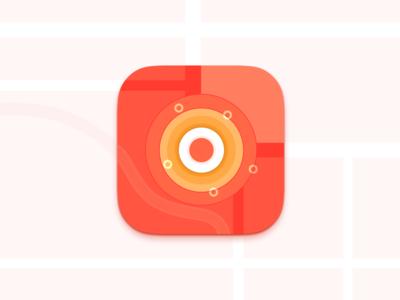 Location Chat App Icon