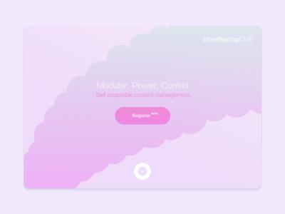 CMS Website Landing Page