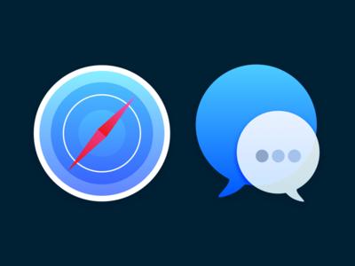 macOS icons : set 1