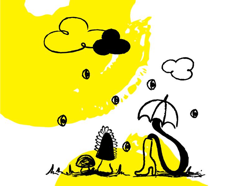 Absurd Illustration [absurd.design] drawing blackandwhite illustration absurd handdrawn vector