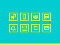 Email Newsletter - Infografic Icons pt. 2