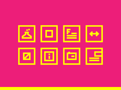 Email Newsletter - Infografic Icons pt. 3 font laboratory info camera outline infographic icon