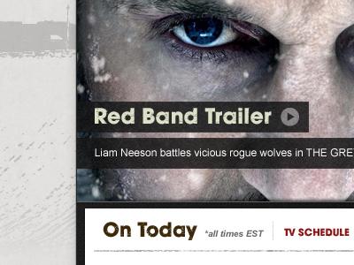 Horror Channel website web grunge dirty horror