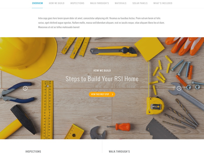 RSI Communities - Building Your Home by Donaville Herrick on