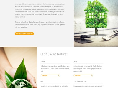 RSI Communities - Earth & Energy eco-friendly internal cta features ui website builder home builder homes real estate green eco