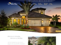 Homes by Westbay - Homepage Redesign Concept