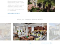 Homes by Westbay - Homepage Welcome + Gallery