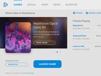Blizzard Battle.net App - Light Version Concept