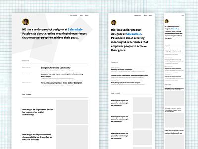 Portfolio Website - A Work in Progress portfolio figma webflow no code