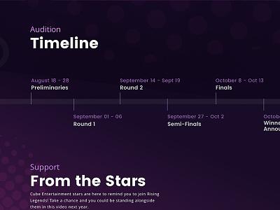 Soompi's Rising Legends Awards viki web kdrama video kpop audition soompi