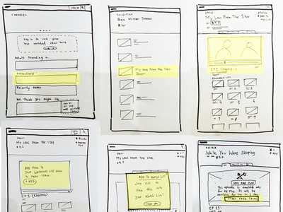 Sketching: The best way to start a discussion designprocess ux ideations wireframing sketch sketching