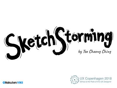 Sketchstorming Workshop for UX Copenhagen ux facilitation slide workshop
