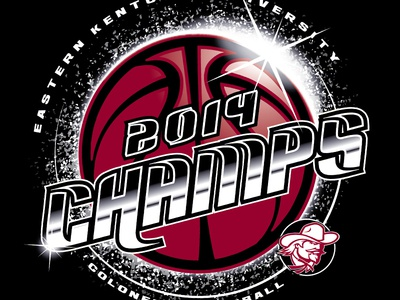 EKU Men's BB OVC Champ design