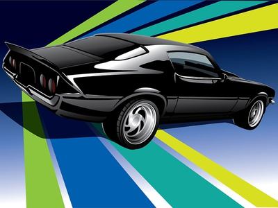 Camaro Illustration