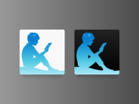 Replacement Icon for Kindle Mac App