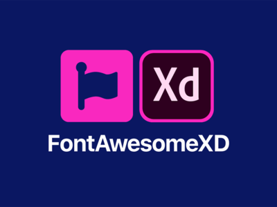 Font Awesome XD - Font Awesome Free Assets for Adobe XD