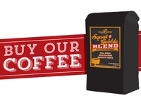 Squat & Gobble Blend Coffee