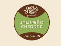 Stella's Popcorn Label