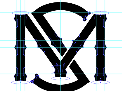 Personal Insignia WIP logo baseball typography