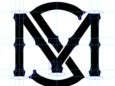 Personal Insignia WIP logo baseball typography