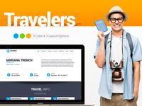 Traveler - Responsive Landing Page