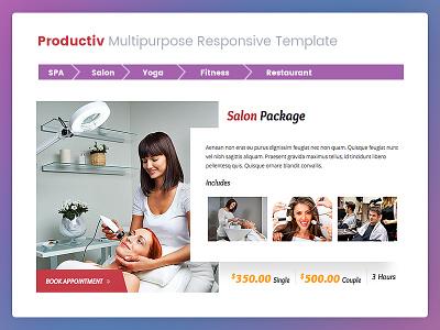 Productiv SPA & Salon Services facial stone massage beauty health treatment yoga salon spa