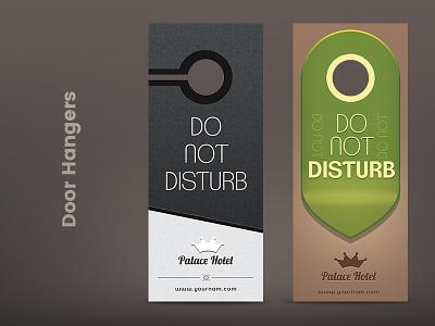 Door Hangers door hanger do not disturb hanger buy template print tag hotel