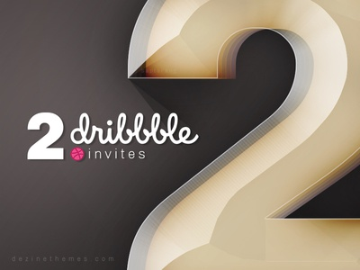 2 Dribbble Invites Giveaway portfolio graphic designer prospects draft giveaway dribbble invite