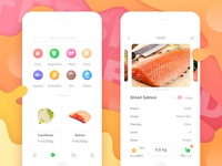 Product Page (Fresh Food App)