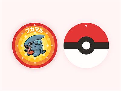 Pokemon Gible Doll Tag