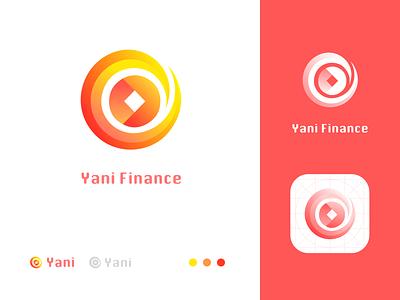 Yani Finance Logo branding icon logo flat design