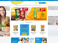 FMCG - e-commerce shop web design