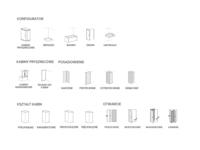Icons: shower, bath, sink preferences
