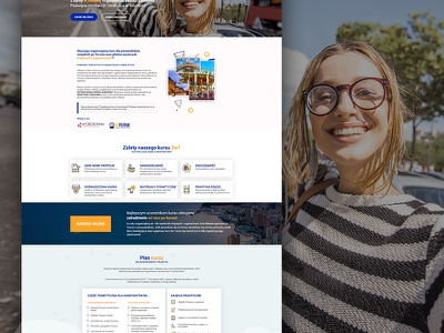 dwa kursy orange blue round triangle kursy memphis website
