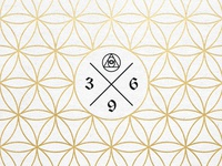 Unity Through Awareness freedom love geometry ortus letterpress branding abstract floweroflife life awareness unity