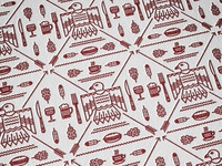 Indian gardens pattern 1