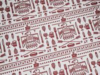 Indian gardens pattern 2