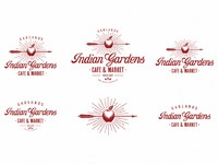 Indian gardens logo pack