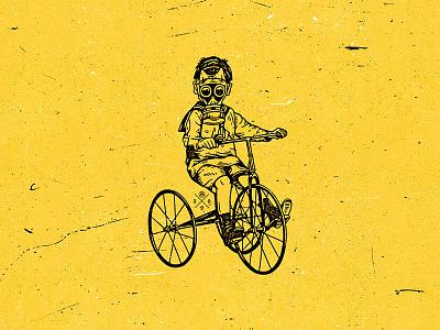 Find Tomorrow illustraion covid19 apocalypse logo apparel sticker grunge vintage world life gasmask boy tomorrow
