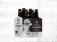 Sergeant sparrow brew co six pack