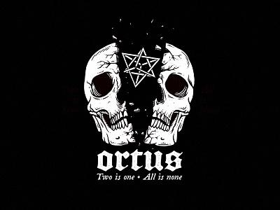 ORTUS spirit sacred blackletter broken occult geometry skull