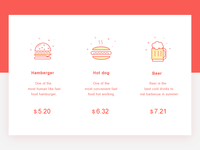 Food interface design