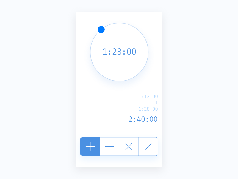 Daily 004 Calculator - Time calculator by Charles Moukory on