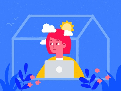 Mental Health at Home for Officevibe mental illness wellbeing remote working indoors home safe space remote work self-care working from home work from home mental health