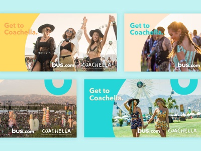 Coachella Facebook Ads facebook ad festival bus advertisement coachella ad campaign