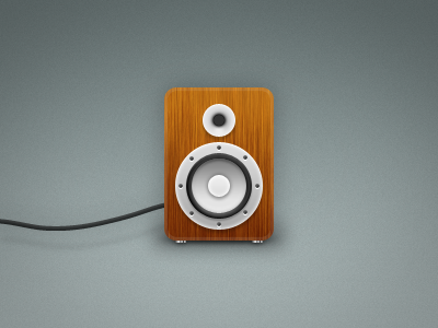 Speaker illustrator photoshop illustration layer styles