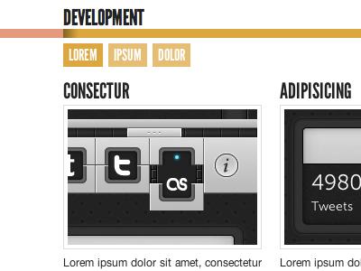 Portfolio portfolio html css flat web