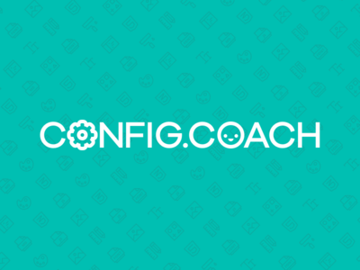 Config.coach tools sketch logo
