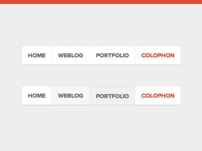 Navigation navigation css flat proxima nova website ui interface web